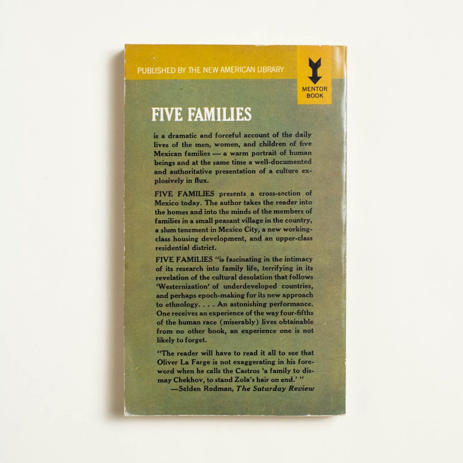 Five Families by Oscar Lewis