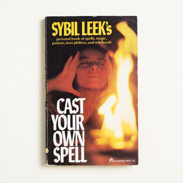 Cast Your Own Spell by Sybil Leek, Pinnacle Books, Paperback from A GOOD USED BOOK. Britain's most famous witch teaches you, well,  how to be a witch! A femme fatale! Just read this. 1975 2nd Printing Culture