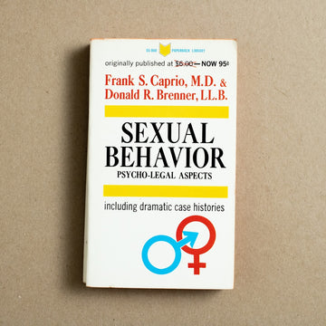 Sexual Behavior: Psycho-Legal Aspects by Frank S. Caprio, Paperback Library, Paperback from A GOOD USED BOOK.