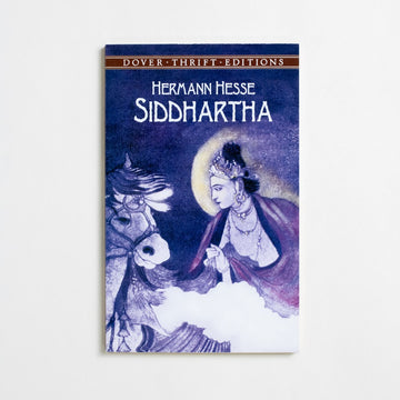 Siddhartha (Dover Thrift) by Hermann Hesse, Dover Publications, Trade Softcover from A GOOD USED BOOK.  1999 No Stated Printing Literature
