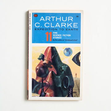 Expedition to Earth by Arthur C. Clarke, Ballantine Books, Paperback from A GOOD USED BOOK.  1965 3rd Printing Genre