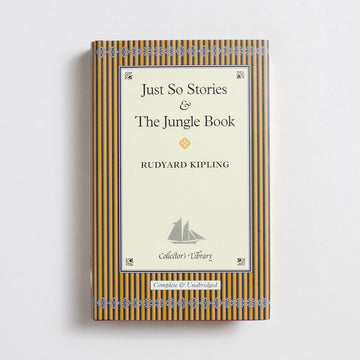 Just So Stories & The Jungle Book (Collector's Library) by Rudyard Kipling, Barnes and Noble Books, Small Hardcover w. Dust Jacket from A GOOD USED BOOK.  2004 4th Printing Classics Short Stories