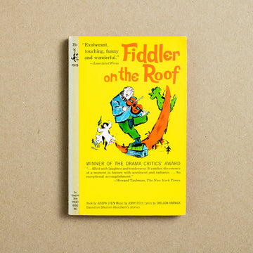 Fiddler on the Roof by Joseph Stein, Pocket Books, Paperback from A GOOD USED BOOK.