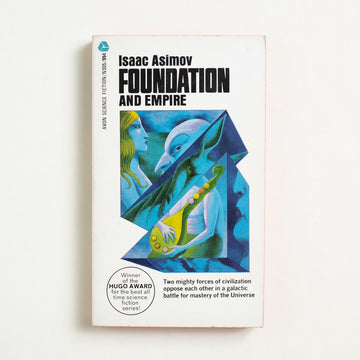 Foundation and Empire by Isaac Asimov, Avon Books, Paperback from A GOOD USED BOOK.