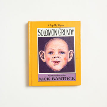Solomon Grundy by Nick Bantock, Viking Penguin, Small Hardcover Pop-up from A GOOD USED BOOK.  1992 1st Edition Genre