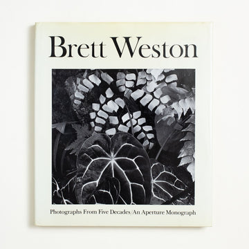 Photographs from Five Decades by Brett Weston, Aperture, Oversize Hardcover w. Dust Jacket from A GOOD USED BOOK. Described as