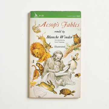 Aesop's Fables retold by Blanche Winder, Airmont Classics, Paperback from A GOOD USED BOOK.  1965 No Stated Printing Literature Childrens