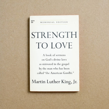 Strength to Love by Martin Luther King, Jr., Pocket Books, Paperback from A GOOD USED BOOK.