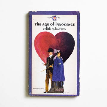 The Age of Innocence by Edith Wharton, Signet Classic, Paperback from A GOOD USED BOOK. When Edith Wharton won the Pulitzer Prize for Fiction in 1921, she became the first woman  to do so - with this novel being her crown jewel.  1962 3rd Printing Literature