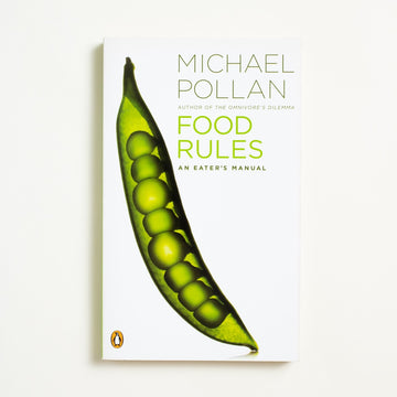 Food Rules by Michael Pollan, Penguin Books, Paperback from A GOOD USED BOOK. Author of