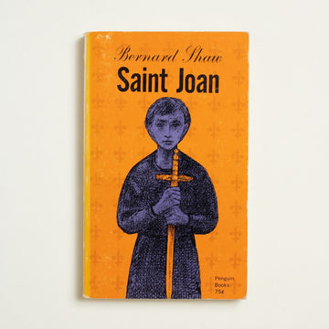 Saint Joan by Bernard Shaw, Penguin Books, Paperback from A GOOD USED BOOK.  1969 No Stated Printing Literature