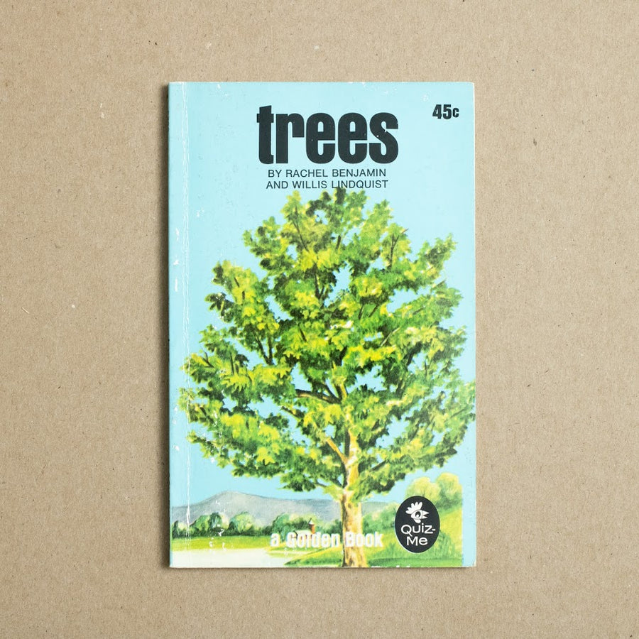 Trees by Rachel Benjamin, Willis Lindquist, Golden Press, Paperback from A GOOD USED BOOK.