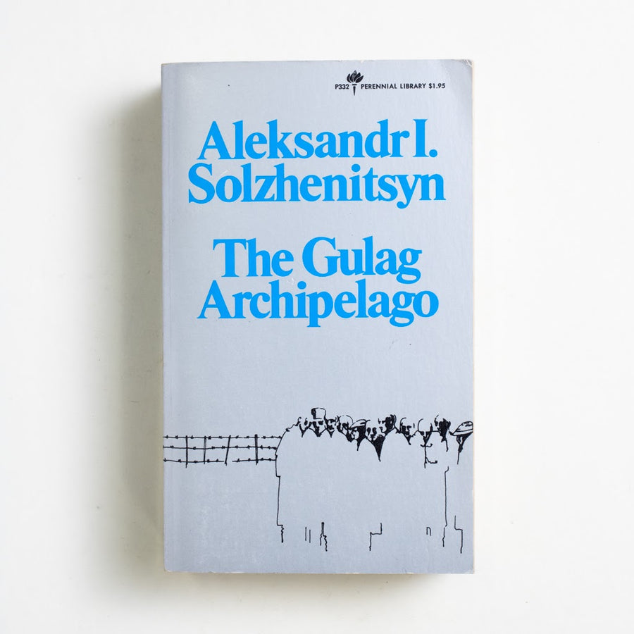 The Gulag Archipelago by Aleksandr Solzhenitsyn, Perennial Library, Paperback from A GOOD USED BOOK.  1973 1st Edition Classics Russian Literature