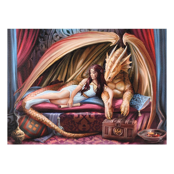 70 X 50CM INNER SANCTUM CANVAS PLAQUE BY ANNE STOKES