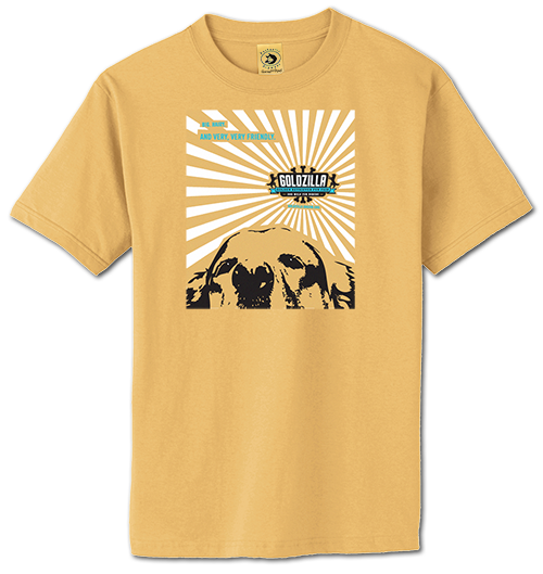 2017 Goldzilla Walk Shirt - Gold