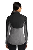 SportTek Contrast 1/2-Zip - Ladies - Black