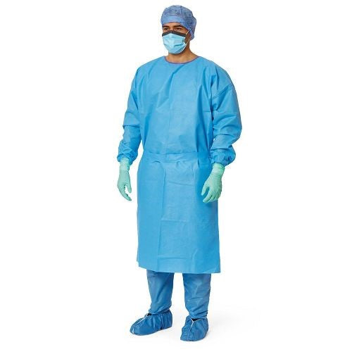 Isolation Gown Knit Cuff (level 1) (1 Case of 100)