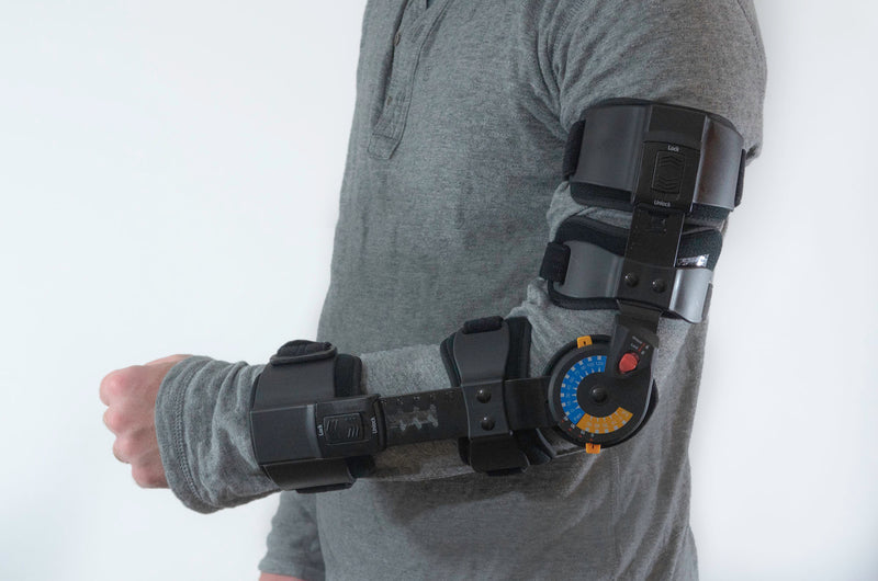 ADJUSTABLE PO/ROM ELBOW BRACE - PDAC HCPCD CODE: L3760 & L3761