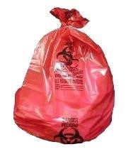 Red Biohazard Liners (100 per case)