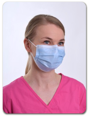 Elers Medical ASTM Level 3 Surgical Face Mask with Earloop