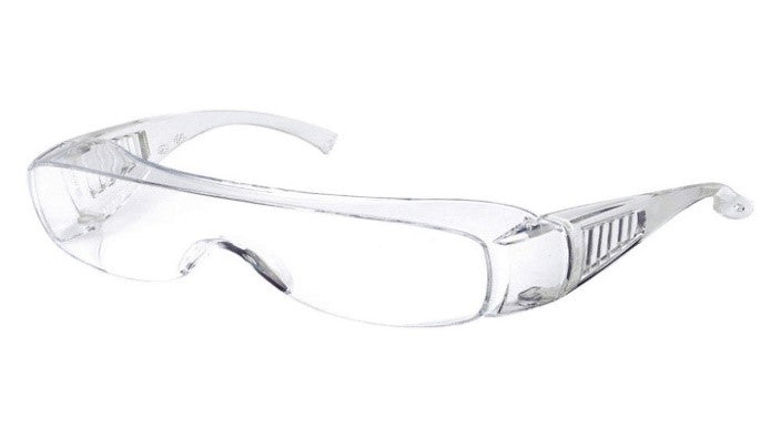 Safety Glasses-Clear Frame (1 Box of 50)