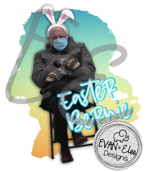 Easter Bunny - Bernie Mittens PNG file
