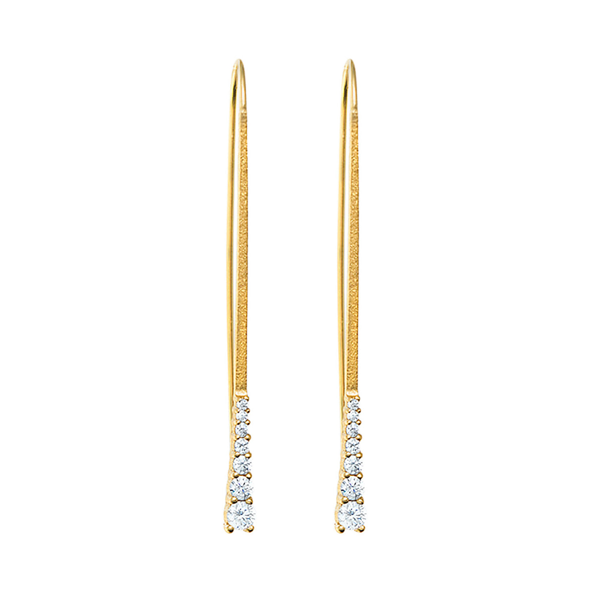 18k Gold Vermeil Earrings