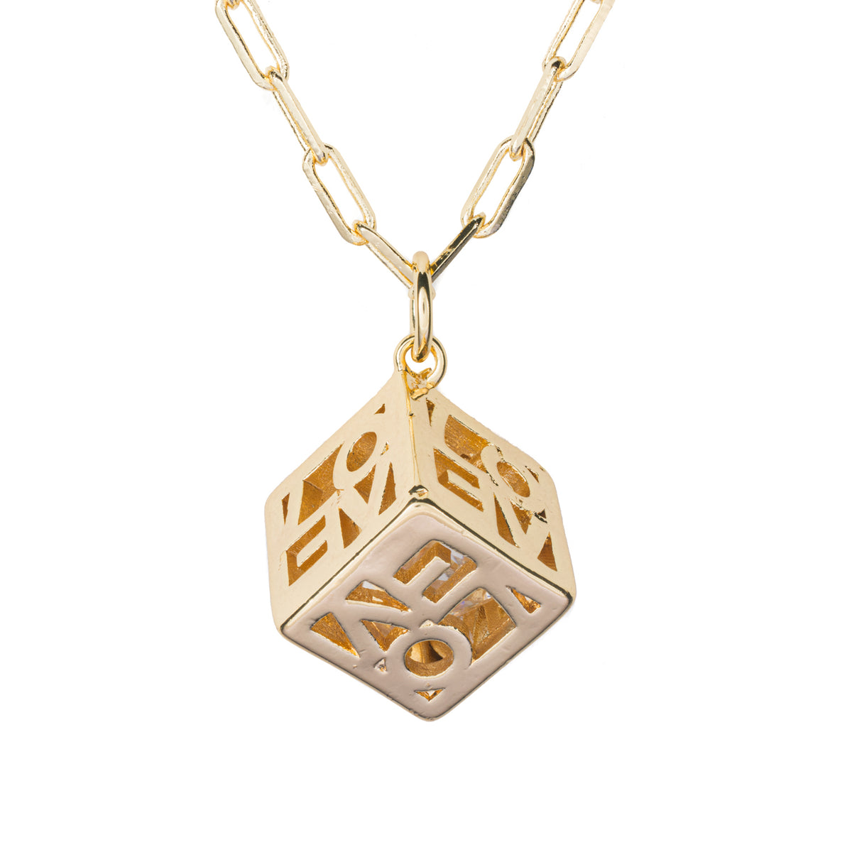 LOVE Cube Necklace