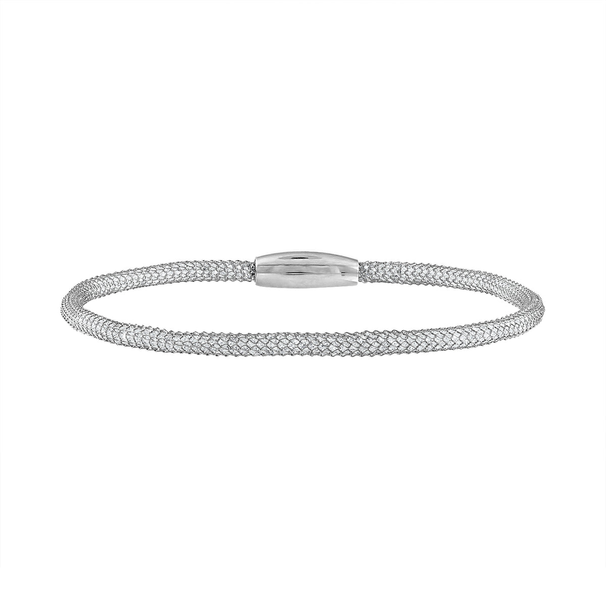 Italian Mesh Bracelets with Magnetic Closure