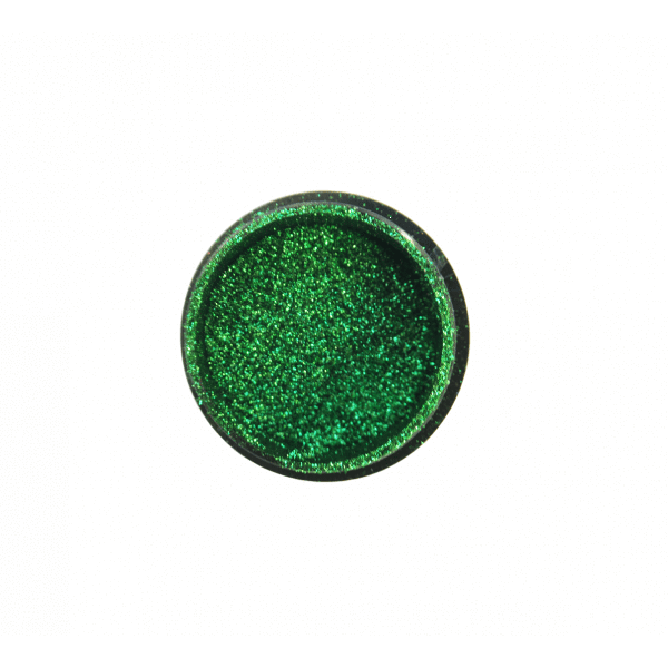 "Didierlab Decor Mirror glitter powder ""Didier Lab"", green (KT-CF002), 0,5g"