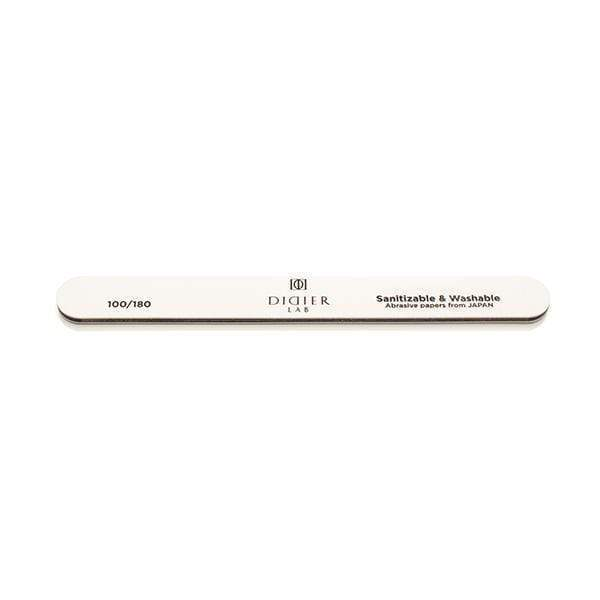 Didierlab Nail Files, Nail Buffers Didier Lab Nail file, straight, speedy white, 100/180