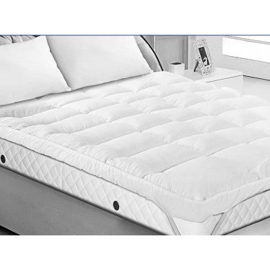 Luxury Microfibre Mattress Topper (4 inch) - 4 Sizes Available