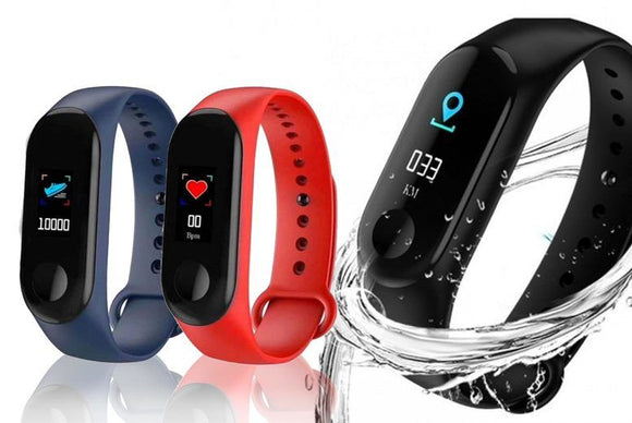 20-in-1 Fitness Tracker Smart Watch - 3 Colours!