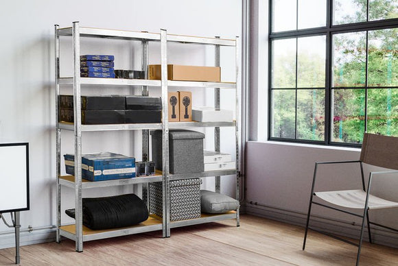 5-Tier Heavy Duty Metal Shelving Unit