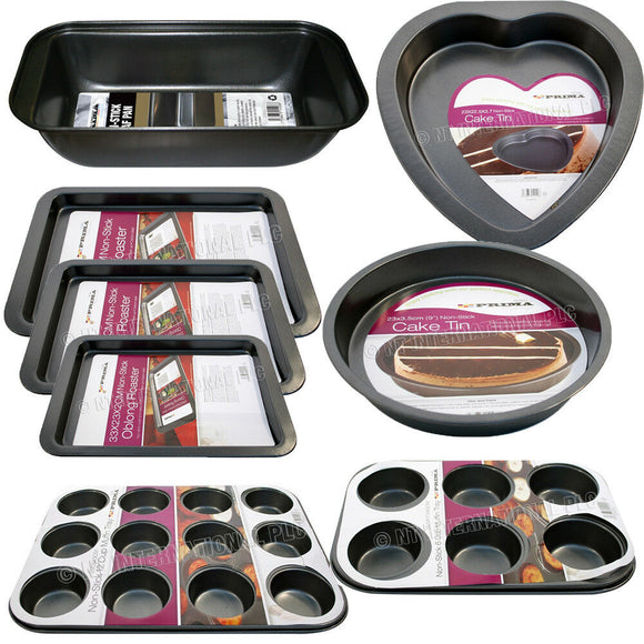 8 Piece Non-Stick Baking Tray Set