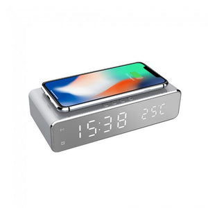 LED Wireless Charging Alarm Clock