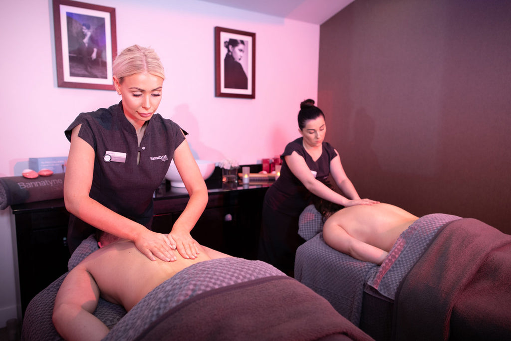 Bannatyne Spa Day with Deep Tissue Back Massage for Two & £5 Voucher