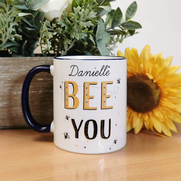 Personalised Bee You Mug