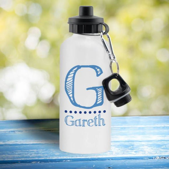 Personalised Drinks Bottle - Blue