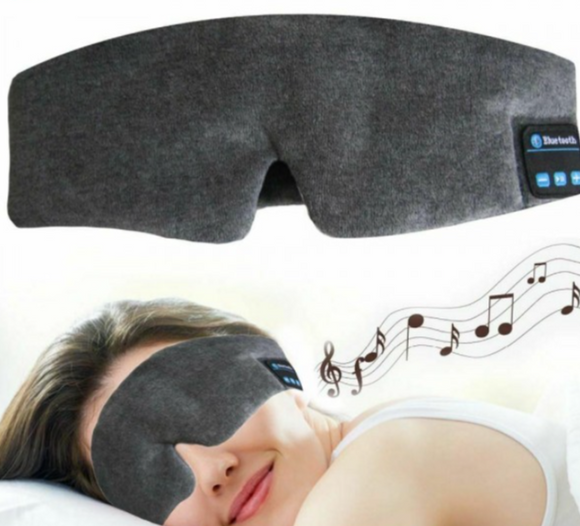 Wireless Bluetooth Headphones & Sleep Eye Mask - 2 Colours