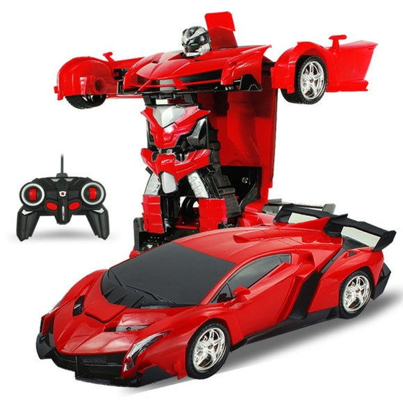 Transforming Remote Control Car Robot Toy