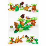 Dinosaur Building Blocks Set