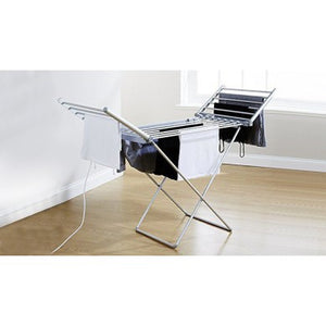 Winged Indoor Heated Clothes Airer - Large