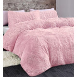 Extra Soft Cuddly Shaggy Duvet Set - 2 Colours