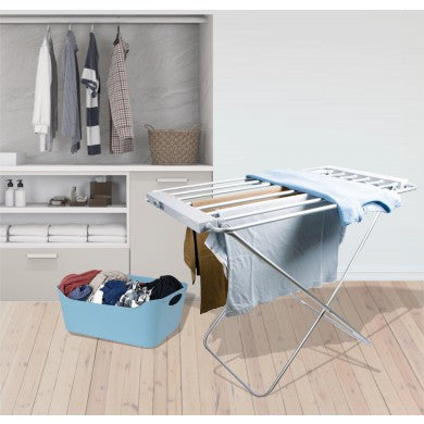 Heated Clothes Airer with Cover Option