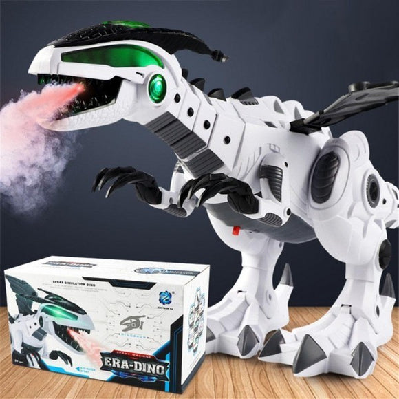 Firebreathing Effect Walking & Roaring Dinosaur Toy - 4 Colours!