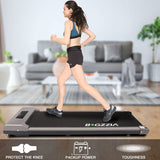 Folding Electric Shock-Absorbing Treadmill