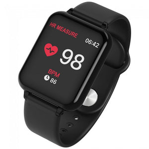 Waterproof Smart Watch with Health Monitor - 3 Colours!