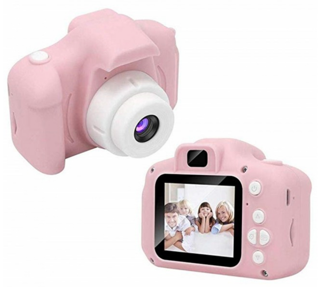 Mini Kids' Digital Video Camera with Optional 32GB SD Card - 3 Colours!