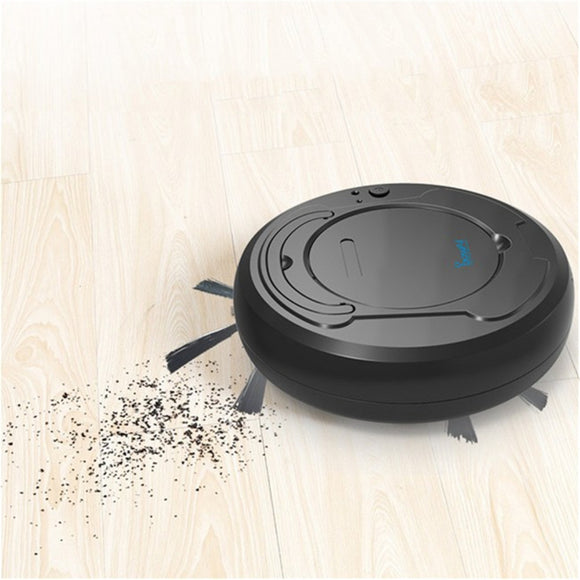 Rechargeable Sweeping Smart Robot Vacuum - 3 Colours!